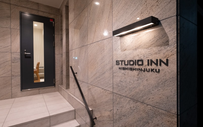 STUDIO INN NISHI SHINJUKU front door